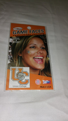 Game Faces Temporary Tattoos