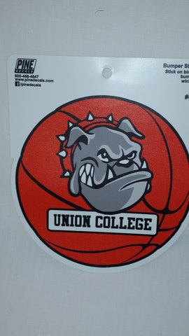 Pine Bulldog Basketball Decal