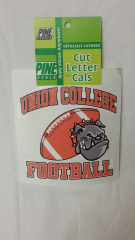 UC Football Window Sticker