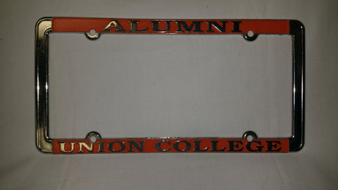 Chrome Alumni UC License Plate Cover