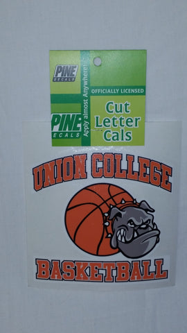 UC Basketball Window Sticker