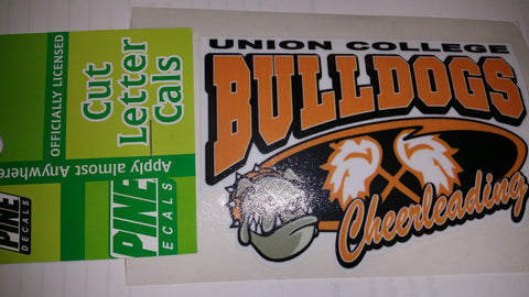 UC Sport Sticker - Cheerleading