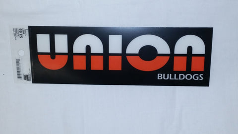 Black Union Bulldogs Cling