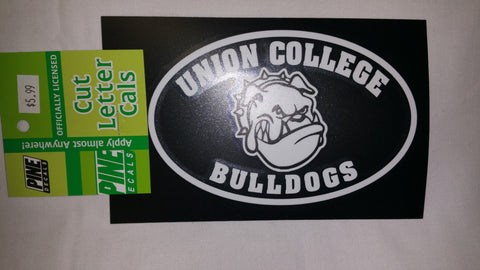 Union College Bulldogs Sticker for Tinted Windows