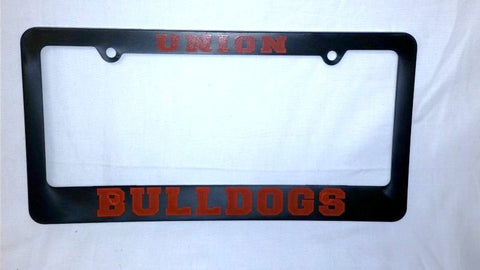 Black UC License Plate Cover W/Go Dawgs!