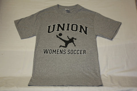 Union Women's Gray Soccer Tee