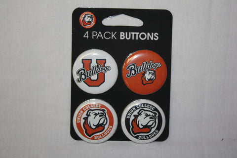 Union College 4 Pack Logo Buttons