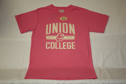 Pink Pigment Dye Union College Tee