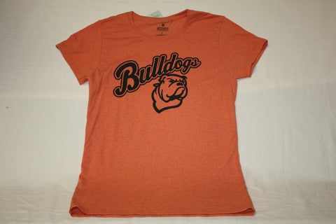 Ladies Sunset Bulldog Logo Tee