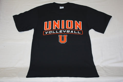 Jet Black Union Volleyball Tee
