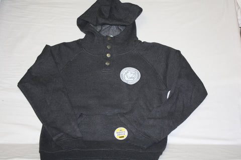Heather Charcoal Outback Hoodie w/ Circle Logo