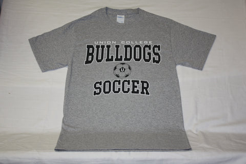 Gray Union College Bulldogs Soccer Tee