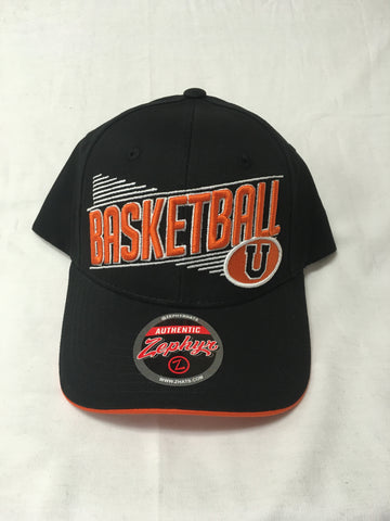 Black Basketball Z-Hat