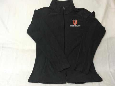 Black Ladies Micro Fleece Jacket