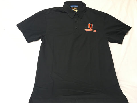 Black Wicking Polo