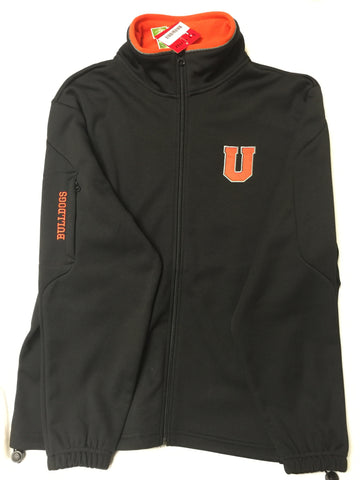 Black U Zip Jacket