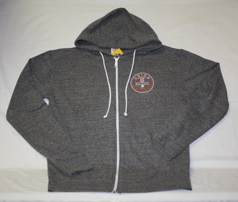 Graphite Snow Heather Zip Hood