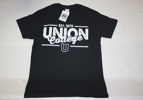 Black Est. 1879  Union College Tee