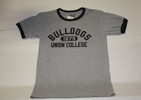 Grey/Black Ringer UC T-shirt