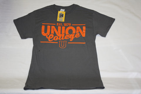 Charcoal Est. 1879 Union College Tee