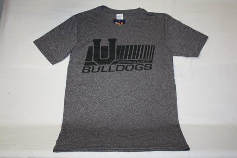 Heather Sport Black Performance U Bulldogs Tee
