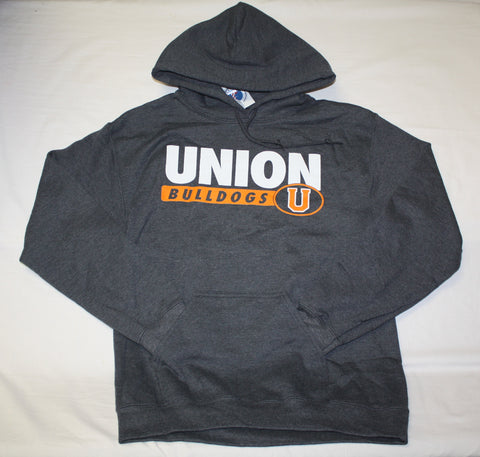 Charcoal Heather Hoodie Union Bulldogs U