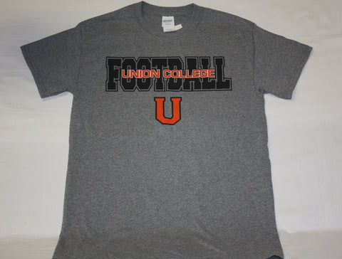 Union College Name Drop Football Tee