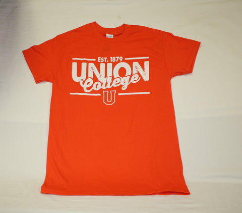 Orange Est. 1879 Union College Tee