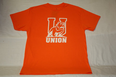 "Safety Orange ""U"" Logo Bulldog Tee"