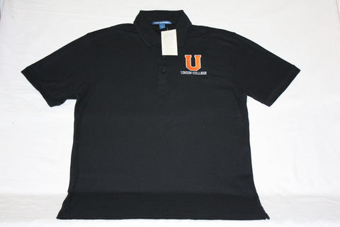 Core Black U Polo