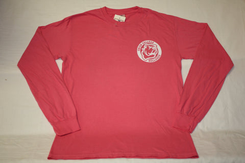 Peony Union College Circle Logo L/S Shirt