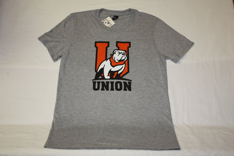 "Heather Grey ""U"" Bulldog Logo Tee"