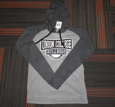 Graphite Heather Raglan Hood LST