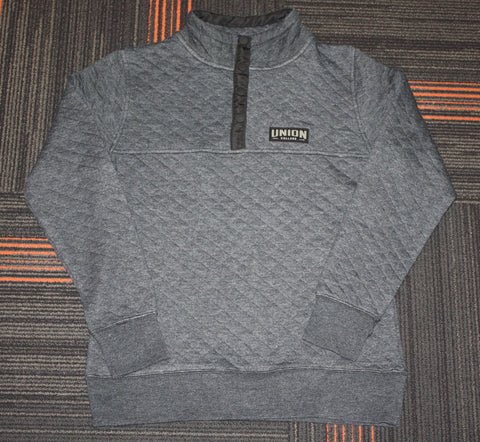 Emily Quilted Snap Pullover