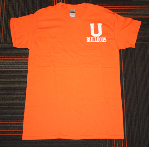 Orange U Bulldogs Tee