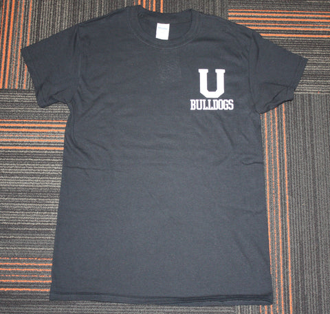 Black U Bulldogs Tee