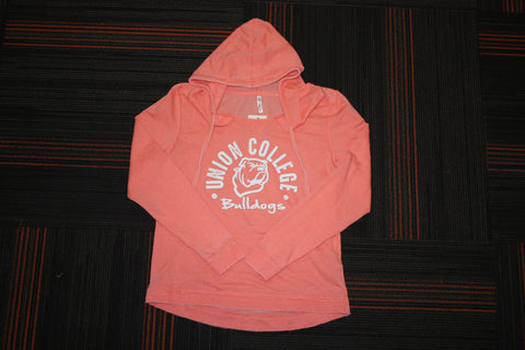Ladies Sunset Vintage Light Hoodie