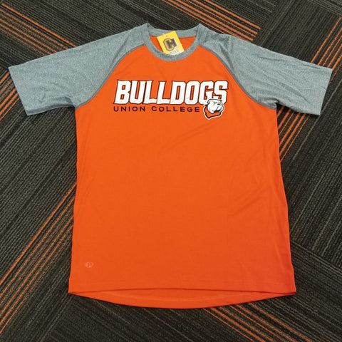 Orange/Carbon Performance Tee