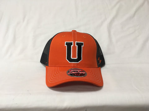 Orange and Black Trucker Z-Hat