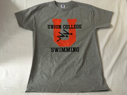 Gray Swimming Oxford Tee