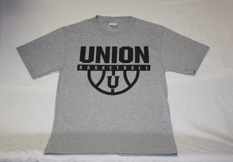 Heather Gray Union Basketball Tee