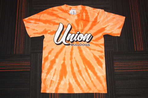 Tie Dye Union Bulldogs Tee