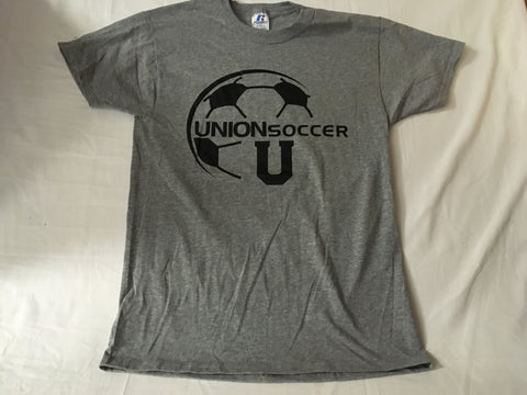 Gray Soccer Oxford Tee