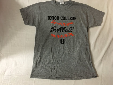 Oxford Gray Softball Tee