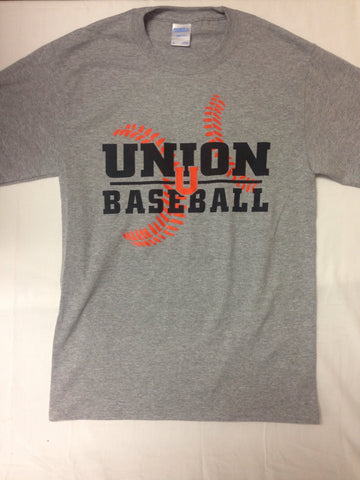 Baseball Grey T-Shirt