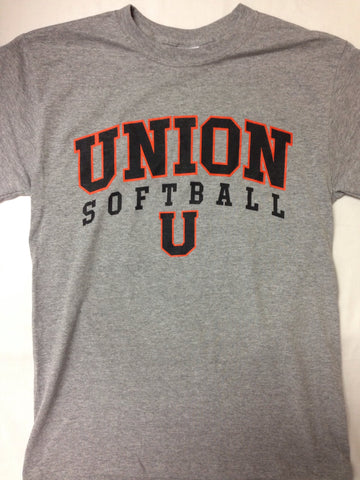Softball Grey T-Shirt