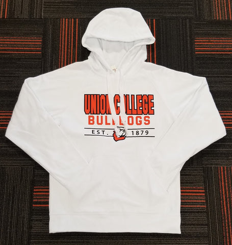 White Sport Wick Pullover Hood