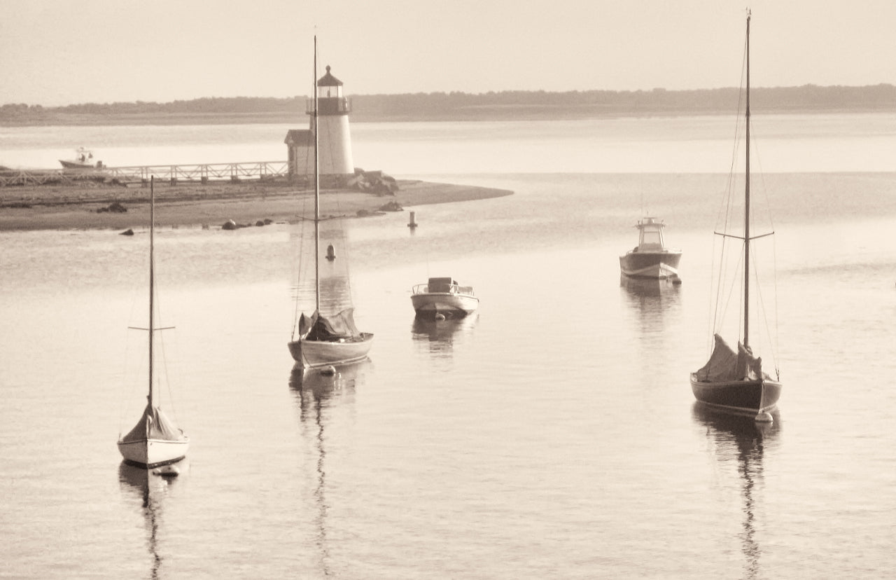 Boats at Brant Point