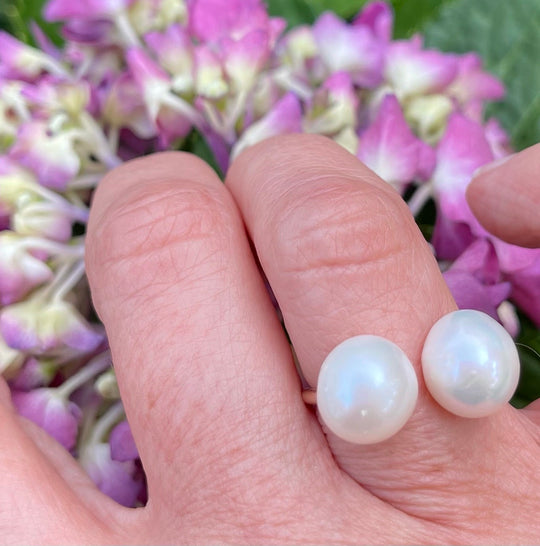 Double Pearl Ring #2