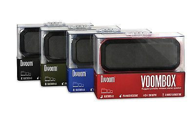 Divoom Voombox Wireless Bluetooth Speaker for iPhone, Samsung Galaxy, LG, iPad, Motorola, HTC and more